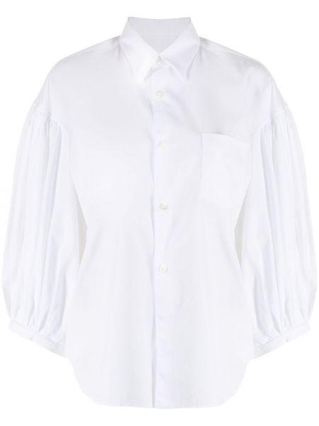 Хлопковая белая рубашка с воротником Comme Des Garçons Comme Des Garçons