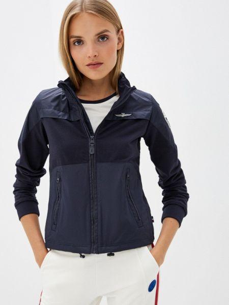 Облегченная синяя куртка Aeronautica Militare