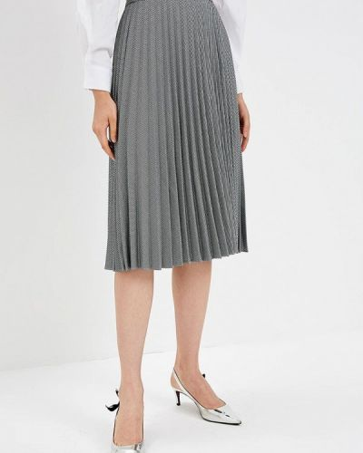Черная юбка широкая Zarina