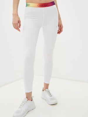 Леггинсы - белые Calvin Klein Performance