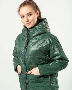 С рукавами зеленая куртка Vomilov