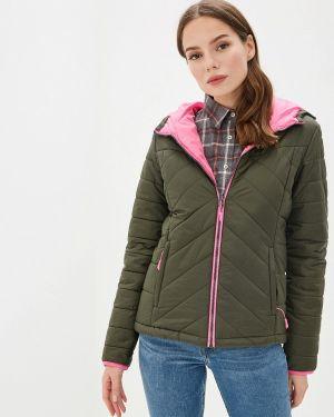 Утепленная куртка осенняя зеленая Icepeak