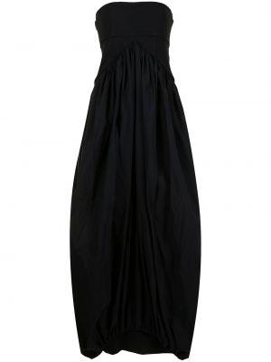 Платье макси длинное - черное Christopher Esber