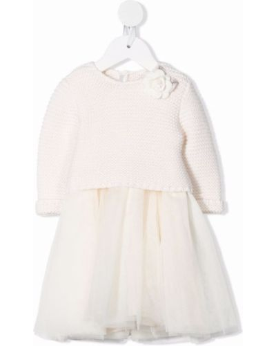 Biała sukienka Monnalisa