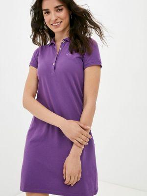 Фиолетовое платье Galvanni