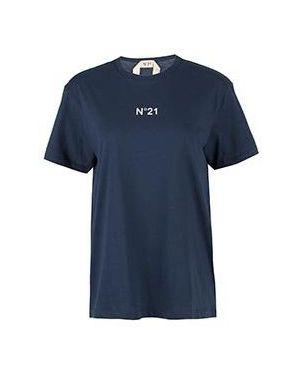 Футболка - синяя No.21