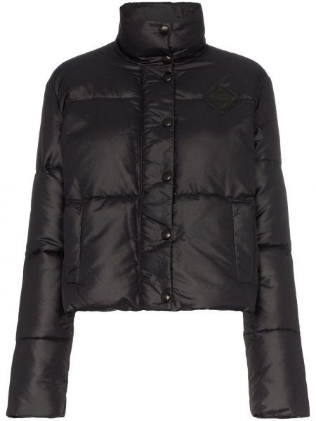 Черный пуховик Givenchy