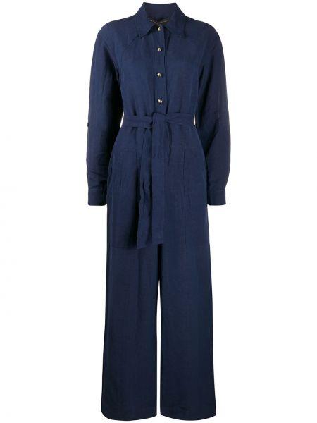 Garnitur kostium niebieski Etro