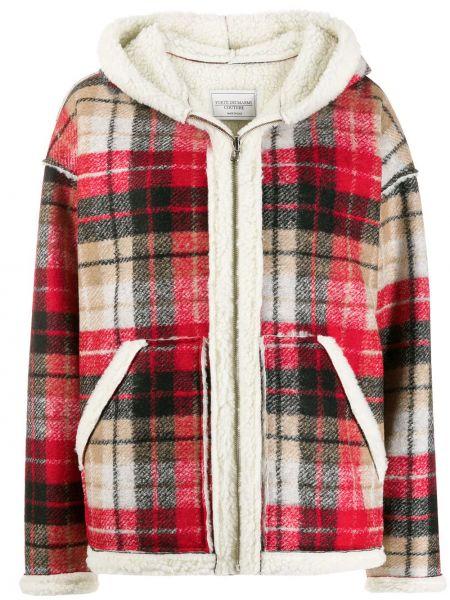Куртка с капюшоном - красная Forte Dei Marmi Couture