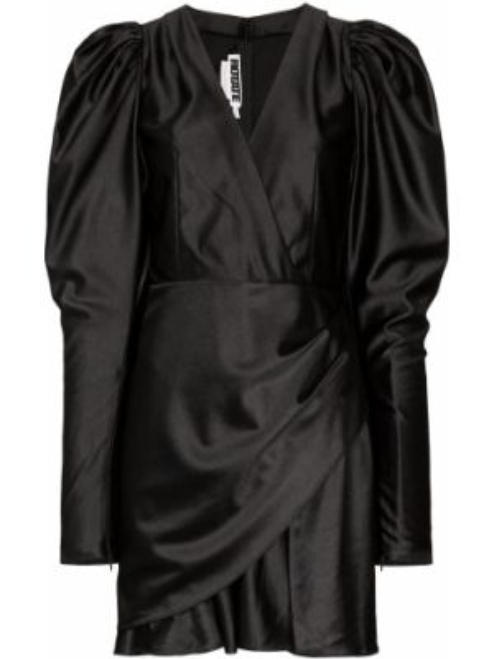 Платье мини с запахом с V-образным вырезом Rotate
