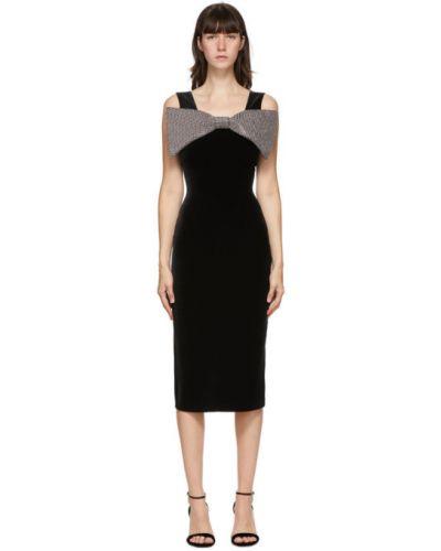 Srebro nylon sukienka rozciągać bez rękawów Christopher Kane