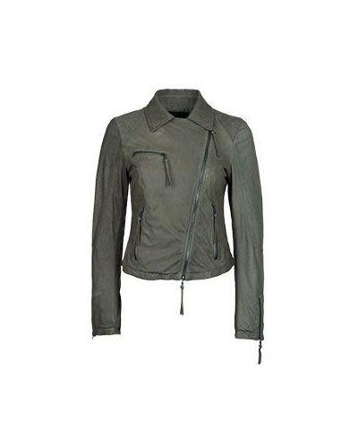 Зеленая куртка весенняя Drome