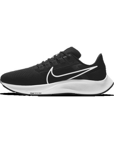 Черные туфли для бега эластичные Nike