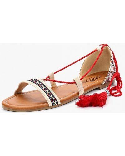 Бежевые сандалии Isteria
