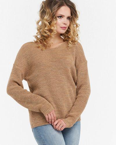 Коричневый пуловер 2018 Vay