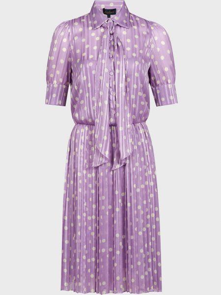 Фиолетовое платье Luisa Spagnoli