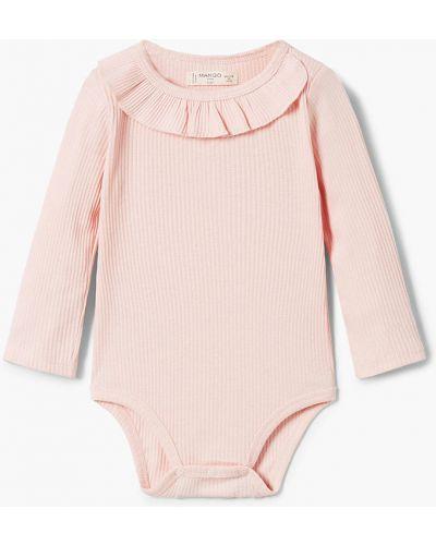Розовая блуза Mango Kids
