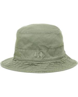 Zielony kapelusz bawełniany Il Gufo
