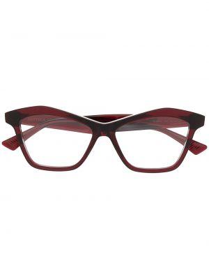 Złote oprawka do okularów Bottega Veneta Eyewear
