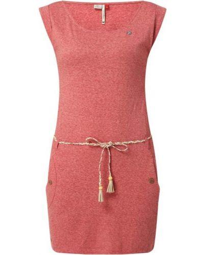 Sukienka bawełniana z paskiem Ragwear
