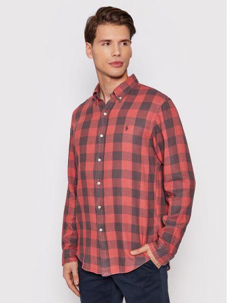 Koszula - czerwona Polo Ralph Lauren