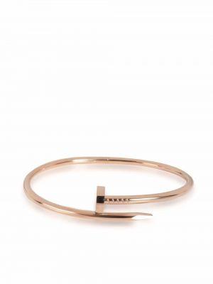 Браслет без застежки - розовый Cartier
