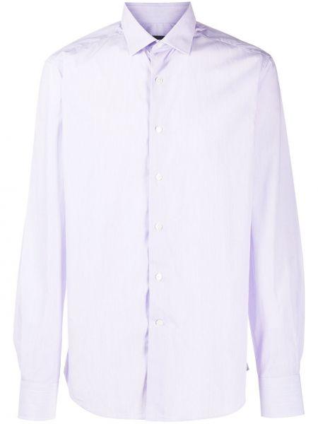 Koszula z długim rękawem klasyczna długa Lanvin