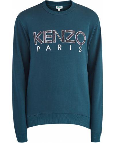 Джемпер на резинке свободного кроя Kenzo