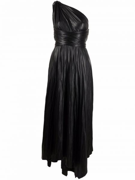 Платье макси - черное Maria Lucia Hohan