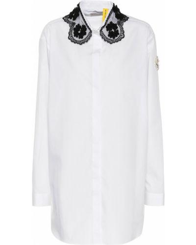 Классическая рубашка белая Moncler Genius