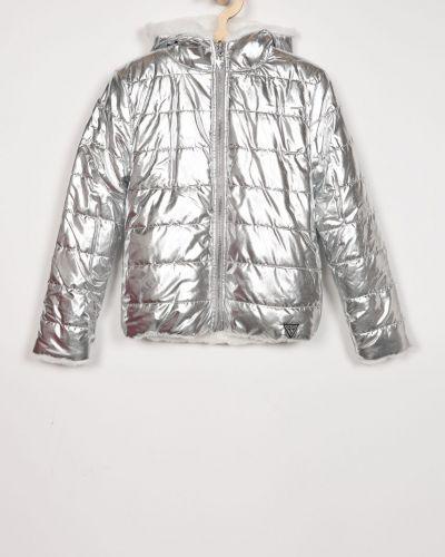 Куртка двусторонняя серебряный Guess Jeans