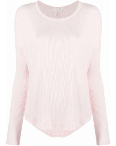 Sweter - różowy Rag & Bone