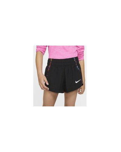 Шорты для бега с подкладкой в цветочный принт Nike