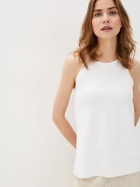 Вязаный белый топ Marks & Spencer