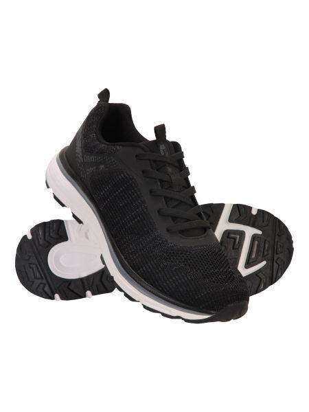 Buty sportowe z siateczką - czarne Mountain Warehouse