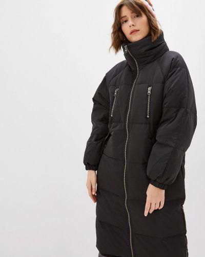 Зимняя куртка черная осенняя Ichi