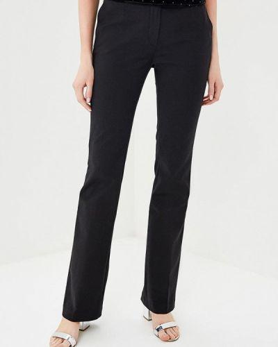 Черные брюки прямые Naf Naf