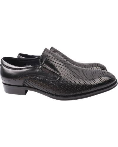 Кожаные туфли - черные Lido Marinozzi