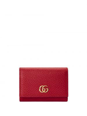 Skórzany portfel z gniazdem Gucci