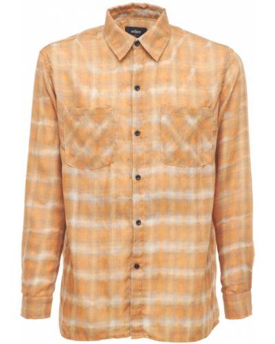 Pomarańczowa koszula z printem Other