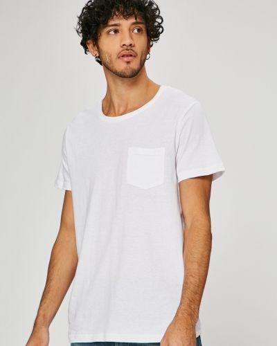 Белая футболка однотонная Sublevel