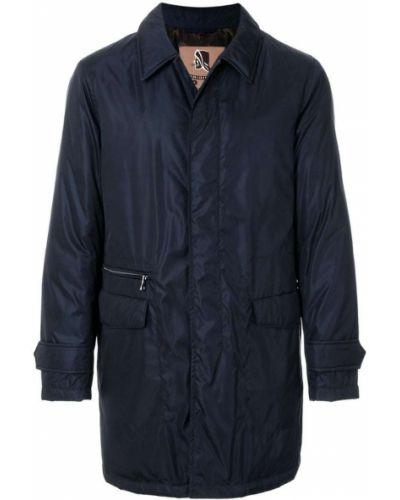 Синее пальто классическое Sealup