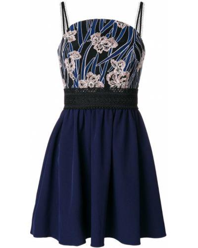 Синее платье Three Floor