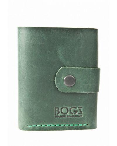 Зеленый кошелек Bogz