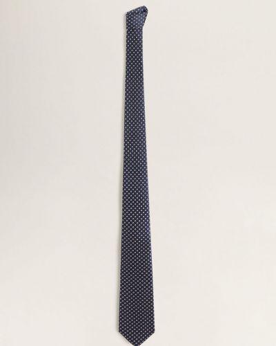 Krawat z wzorem czerwony Mango Man