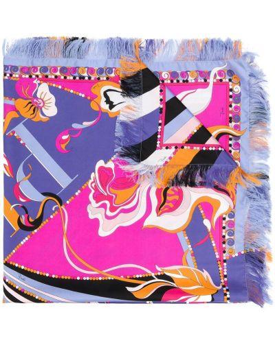 Платок розовый Emilio Pucci