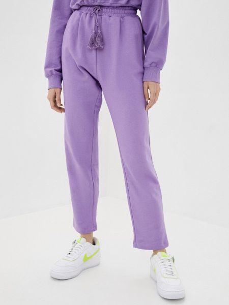 Спортивные брюки фиолетовые Imperial