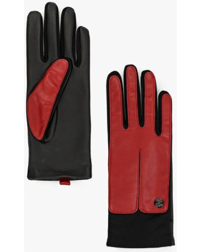 Кожаные красные кожаные перчатки Roeckl