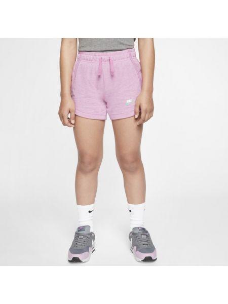 Różowe szorty do biegania na co dzień Nike