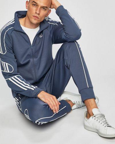 Кофта на молнии с принтом Adidas Originals